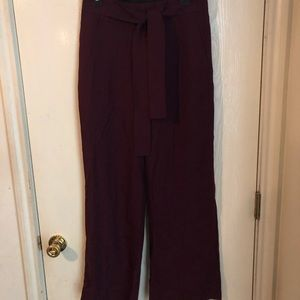New Banana Republic purple trousers